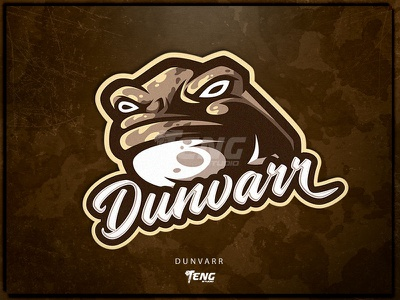 Dunvarr overwatch fortnite brand game branding design sport esport character logo mascot