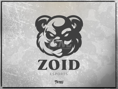 ZOID ESPORTS fortnite brand game branding design sport esport character logo mascot
