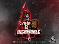 Incredible Logo Esport | Spartan Mascot Logo Sport