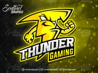 FORTNITE OVERWATCH THUNDER Logo Esport Mascot Team Sport Game