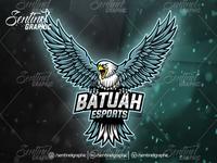 BATUAH EAGLE Logo Esport Mascot Team Sport Game