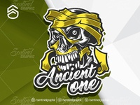 Ancient One Logo Esport Mascot Team Sport Game