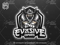 EVASIVE Clan Club Logo Esport Mascot Team Sport Game
