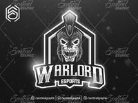 WARLORD Clan Club Logo Esport Mascot Team Sport Game