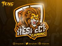 RESPECT GAMING Club Logo Esport Mascot Team Sport Game