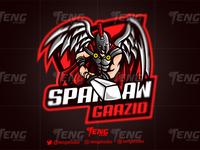SPARTAN GAAZID  Logo Esport Mascot Team Sport Game