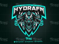 HYDRAFN Clan Club Logo Esport Mascot Team Sport Game