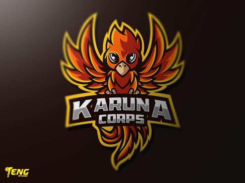 KARUNA CORPS  MASCOT LOGO CHARACTER VECTOR clan icon gaming team overwatch fortnite brand game branding design sport esport character logo mascot