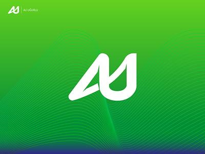 AU Logo brand redesing branding design logo