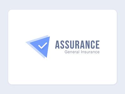 Logo Design for Assurance typography vector idenity badge corporate branding general insurance logodesign branding logo dribbble