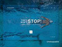 Unstoppable - Hero Banner | Web UI