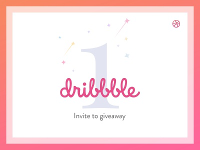 Yeah! Dribbble invite to giveaway. dribbble design giveaway dribbble best shot graphic card dribbbleinvite freebie psd free free psd download for free invitation newplayer tickets welcome shot draft