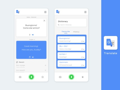 Google translate  |  Uplabs Challenge