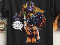 Goku Vs Thanos T Shirt