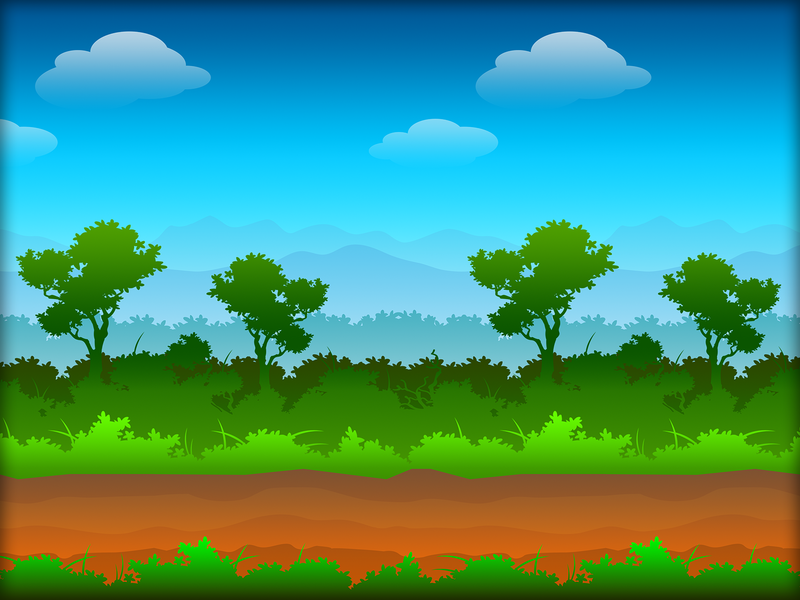 FOREST BACKGROUND rpg symmetry vector background forest