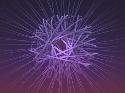 #C4D Abstract Geometry