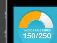 Words mastered