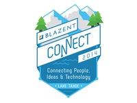 Blazent Connect 2014 Badge