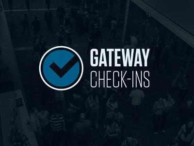 Gateway Checkins App ui app design
