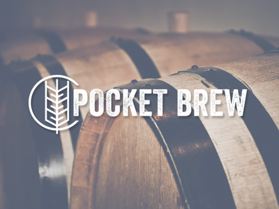 Pocket Brew branding id concept