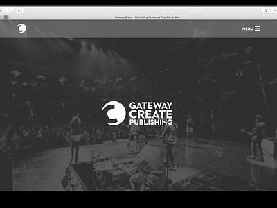 Gateway Create web design ux ui