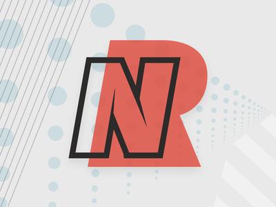 NR Personal Branding id logo branding
