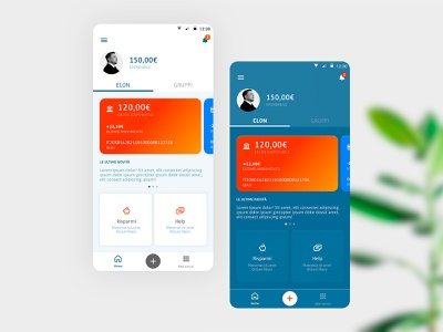 Studying light and dark mode ux ui stylish redesign payment nightmode money mobile minimal interface bank app