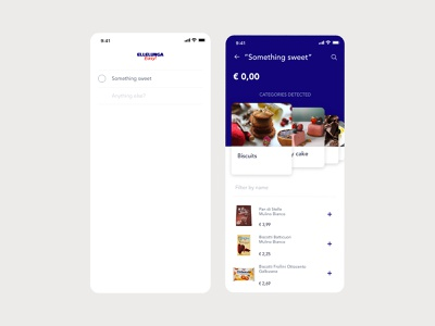From Grocery List to Shopping grocery todolist mobile clean app graphic ux ui design
