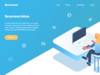 Re:amaze Inbox Landing Page