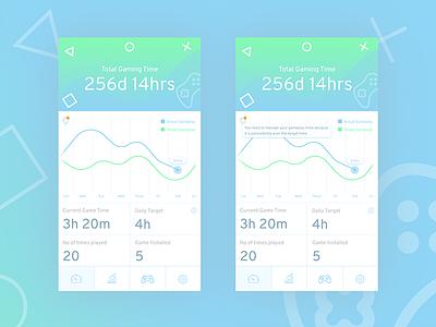 Game Time Tracker firstshot uichallenge