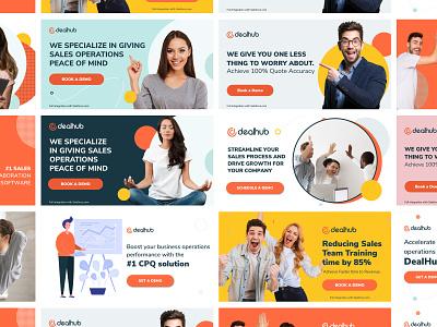Facebook Ads - Dealhub social media banner digital advertising digital ad banner ad advertising facebook banner facebook ad
