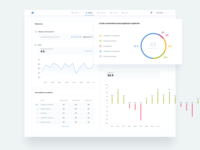 Edu platform dashboard - report