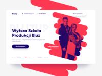 BluzUp - web design