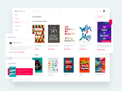 LubimyCzytac.pl - redesign concept review rating goodreads cover concept redesign bookshop books web ux user website ui