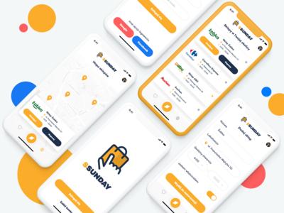 Shopping Sunday - app concept
