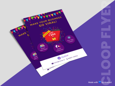 Flyer Design for Cloop