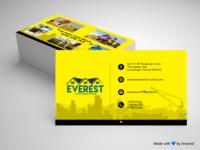 Everest Constructions Business Card
