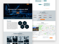 Conference Website - Landing Page