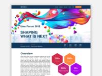 User Conference Website