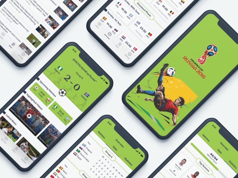 Fifa World Cup App Redesign user interface design interaction ui ux ui app redesign redesign uplabs fifa world cup app ui app design fifa fifaworldcup redesign concept ui design