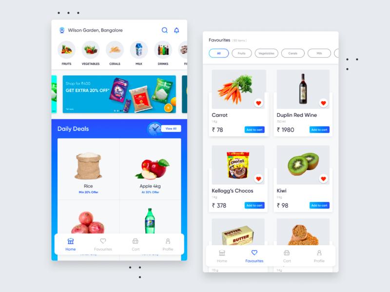 Grocery App app aravindlittlejack app ui design app ui grocery online groceries grocery store grocery app grocery android app app design ui ui design