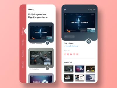 welovedaily.com App Concept
