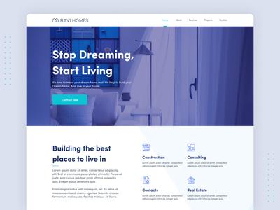 Construction Agency Website