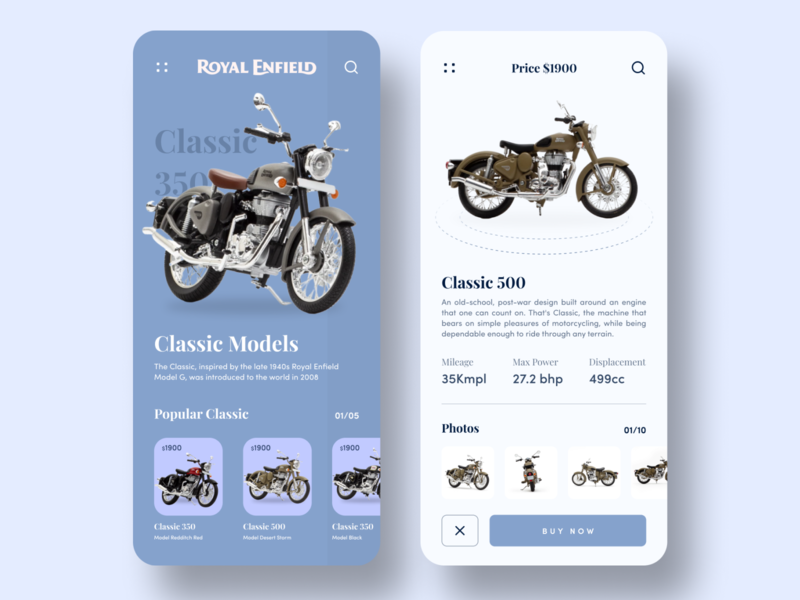 Bike App Concept desert storm bullet bike ui deisgn ui app ui ecommerce app ecommerce bikers automobile concept app concept bike app bike royal enfield