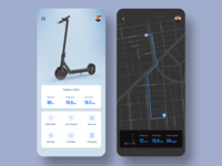 Electric Scooter Rider App