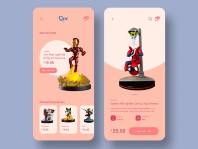Marvel Toys App