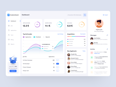 Job Recruiter Dashboard