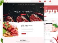 Meat Store Website Design