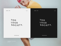 Modern logo options for Tooloudsociety