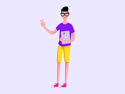 Figma User character designer user figma affinitydesigner illustration